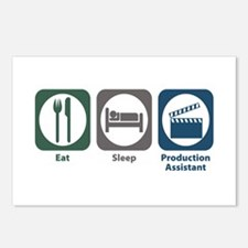 Eat Sleep Production Assistant Postcards (Package