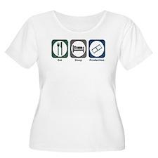 Eat Sleep Production T-Shirt