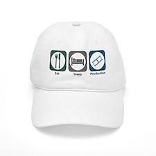 Eat Sleep Production Baseball Cap