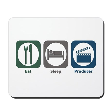 Eat Sleep Producer Mousepad