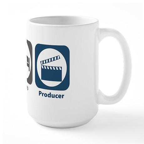 Eat Sleep Producer Large Mug