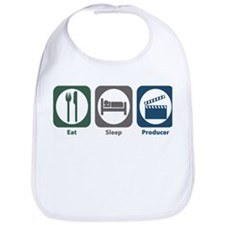 Eat Sleep Producer Bib