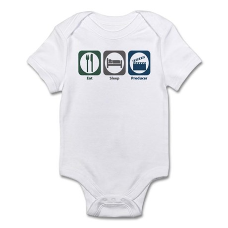 Eat Sleep Producer Infant Bodysuit
