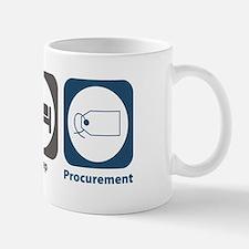 Eat Sleep Procurement Small Small Mug
