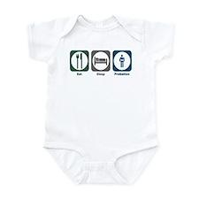 Eat Sleep Probation Infant Bodysuit