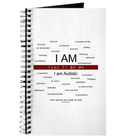 Autism ~ Free to be me Journal