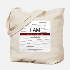 Autism ~ Free to be me Tote Bag
