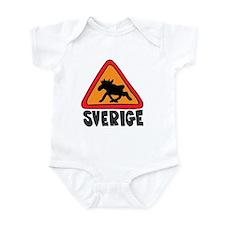 Sverige Elk Crossing Infant Creeper
