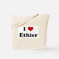 I Love Ethier Tote Bag