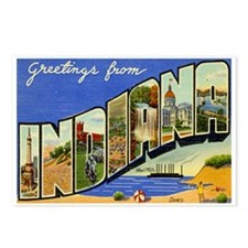 Indiana Postcard Postcards (Package of 8)