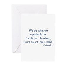 Aristotle 2 Greeting Cards (Pk of 10)