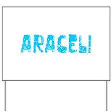 Araceli Faded (Blue) Yard Sign