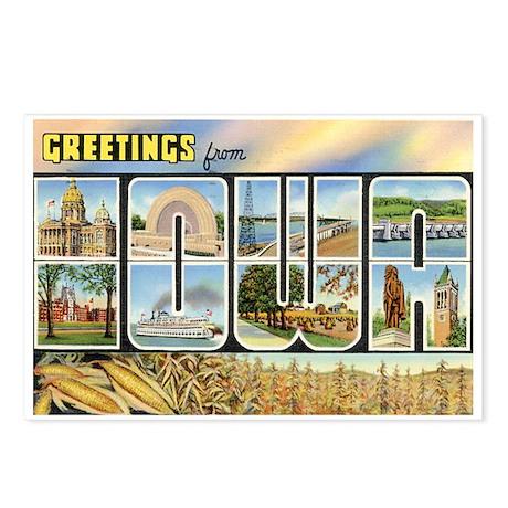 Iowa Postcard Postcards (Package of 8)