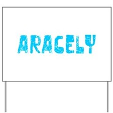Aracely Faded (Blue) Yard Sign