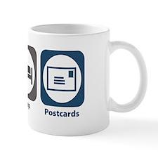 Eat Sleep Postcards Mug