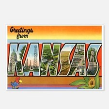 Kansas Postcard Postcards (Package of 8)