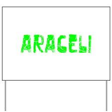 Araceli Faded (Green) Yard Sign