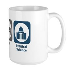 Eat Sleep Political Science Mug