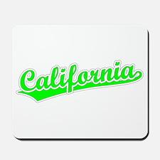 Retro California (Green) Mousepad
