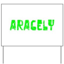Aracely Faded (Green) Yard Sign