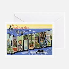 Kentucky Postcard Greeting Card