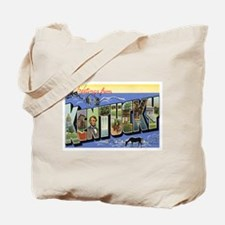 Kentucky Postcard Tote Bag
