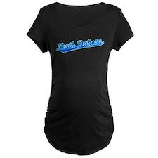 Retro North Dakota (Blue) T-Shirt