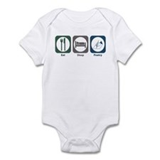 Eat Sleep Poetry Infant Bodysuit