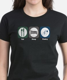 Eat Sleep Poetry Tee
