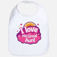 Great Aunt Gift For Grand Niece Baby Bib