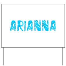 Arianna Faded (Blue) Yard Sign