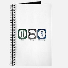 Eat Sleep Plumbing Journal