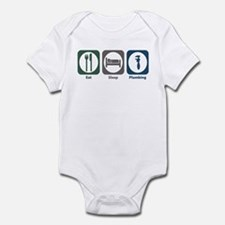Eat Sleep Plumbing Infant Bodysuit