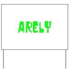 Arely Faded (Green) Yard Sign