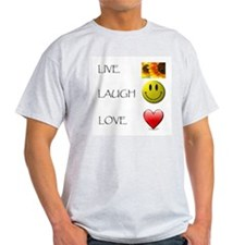 Live Laugh Love Heart Sunflow T-Shirt