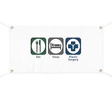Eat Sleep Plastic Surgery Banner