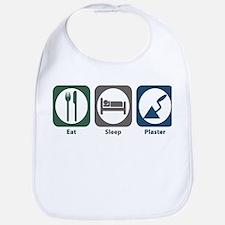 Eat Sleep Plaster Bib