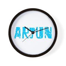 Arjun Faded (Blue) Wall Clock