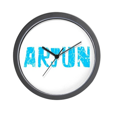 Arjun Faded (Blue) Wall Clock