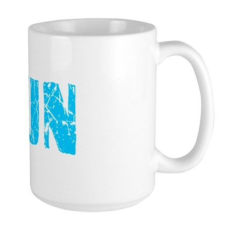 Arjun Faded (Blue) Large Mug