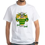 Rivera Family Crest White T-Shirt