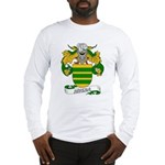 Rivera Family Crest Long Sleeve T-Shirt