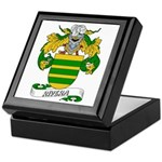 Rivera Family Crest Keepsake Box