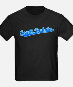 Retro South Dakota (Blue) T