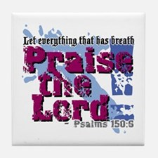 Psalms 150:6 Tile Coaster