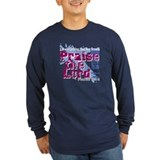 Let everything that has breath 2c praise the lord Long Sleeve T-shirts (Dark)