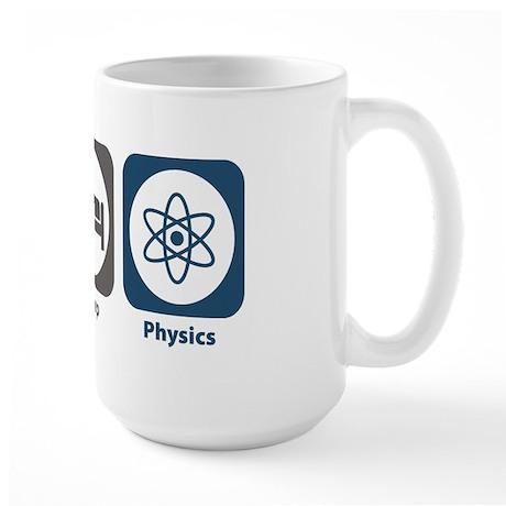 Eat Sleep Physics Large Mug