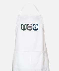 Eat Sleep Physics BBQ Apron