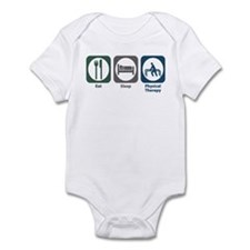 Eat Sleep Physical Therapy Infant Bodysuit