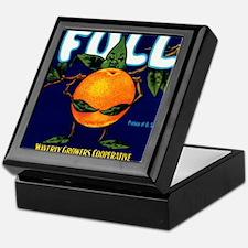 Full Oranges Keepsake Box